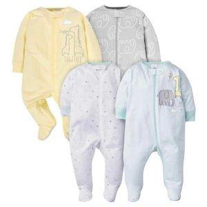 7-Pack of Newborn Footie Onesies